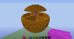 Sphere Practice on Minecraft by imanani