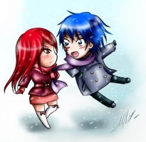 Erza and Jellal: and so he fell in love... by Rinoa-Light-Leonhart