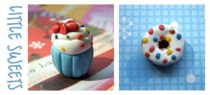 Clay Charms :: Little Sweets by Toasts