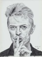 David Bowie by ISG-Art
