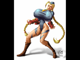 Cammy Surprised by mangrowing