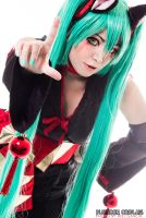 What Does The Fox Say :: Hatsune Miku by plu-moon