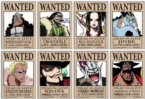 Wanted Shichibukai by LordGandulfo88