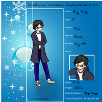 Brookview Academy Application - Ming Young by AvalonMelody