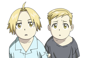 Edward and Alphonse by Giorg-ART