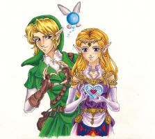 OoT:5 Days of Valentines-Zelda by tomo-chi