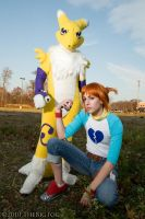 The Digimon Queen by Twin-Cosplay