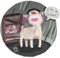 Pewdiepie Outlast - Goat by TB00
