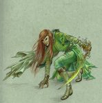 The Green Pilgrim by nolwen