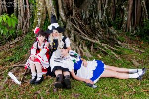Resting by Hitomi-Cosplay