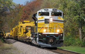 Special Caterpillar SD70ACe 1201 fall colors by EternalFlame1891