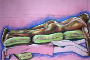 Figure drawing 1 by toge-NYC