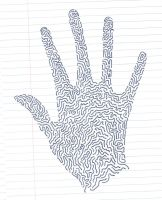Handprint by Athenica