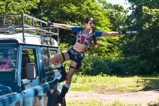 Tomb Raider Legend - Land Rover by FuinurCroft