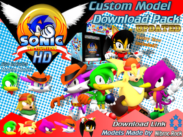 Sonic the Fighter Custom Model Download Link v3 by Nibroc-Rock