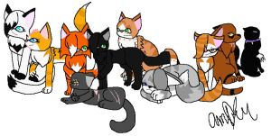 Raineh's Top Ten Warrior Cats by neutralchao59