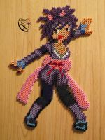 Sheena Tales Of Symphonia Trainer Perler Beads by Cimenord
