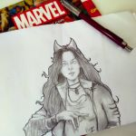 Scarlet Witch by Hyuuugo