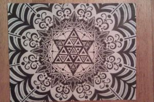 Triangle Expansion by geometric-flow