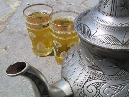 Moroccan tea by rhipster