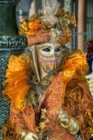 Masquerade in Orange by InspirationRealized