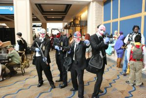 Metrocon 2014: Payday Crew by pgw-Chaos