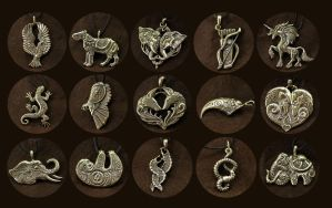 August new pendants by hontor