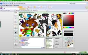 Mega iScribble Collab by howlowl