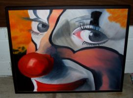 clown by minniemaggieplywood