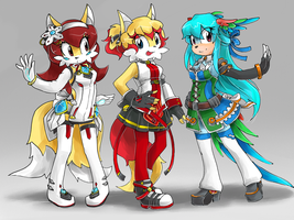 Elsword party by YelowFOX