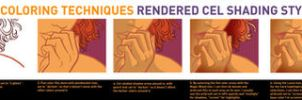 Rendered Cel Shading Tutorial by PaulSizer
