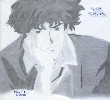 Spike Spiegel by Sokai-Sama