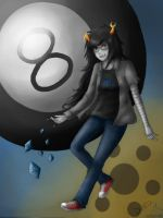 Vriska: Roll. by Daninha-LOL