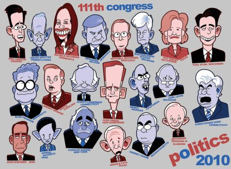 Politicians 2010 by jjmccullough