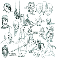 2011 Sketches by Dian3
