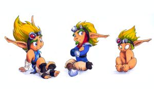 Jak through the ages... by dabean