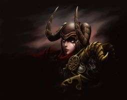 DemonHunter[DiabloIII] by DarikaArt