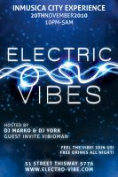 Electric Vibes Music Flyer by ArtoriusGothicus