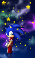 Sonic - Reach for the Stars by ScandinavianMonkey