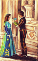 Romeo and Juliet by SquirrelGirl15