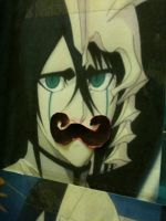 Ulquiorra + Mustache by i-love-arizona