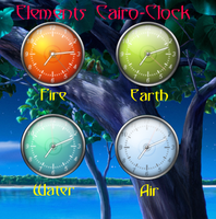 Elements Cairo-Clock by GrynayS