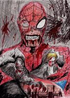 Marvel Zombies: Parker by hewhowalksdeath