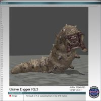 Grave Digger RE3 by Adngel