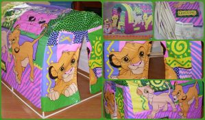 ( The Lion King ) Slumber Party Tent Rare by KrazyKari
