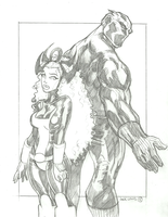 The Incredible Black Panther #4 by apexabyss