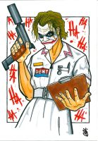 Marker: Nurse Joker by G-double