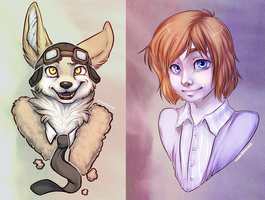 Bust Commissions by soulwithin465