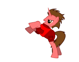 Wreck-it Ralph as a Pony by Toongirl18