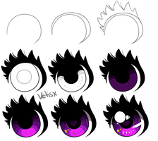 Small eye tutorial by Vetisx
